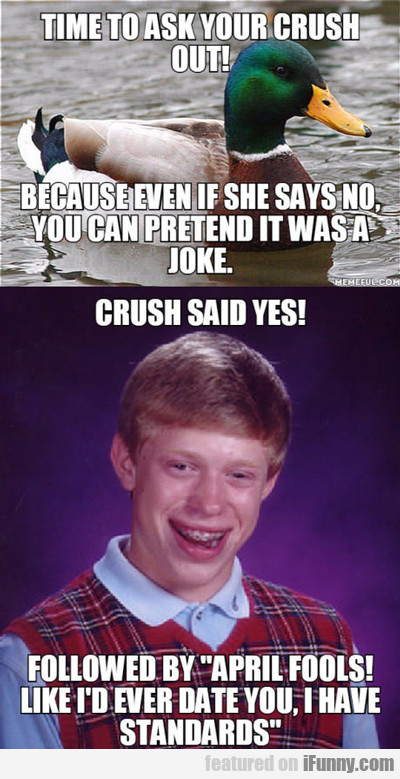 Time To Ask Your Crush Out...