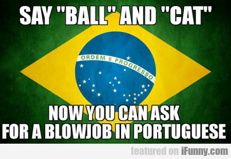 Say Ball And Cat...