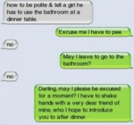 How To Be Polite And Tell A Girl...