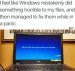 I Feel Like Windows Mistakenly Dd