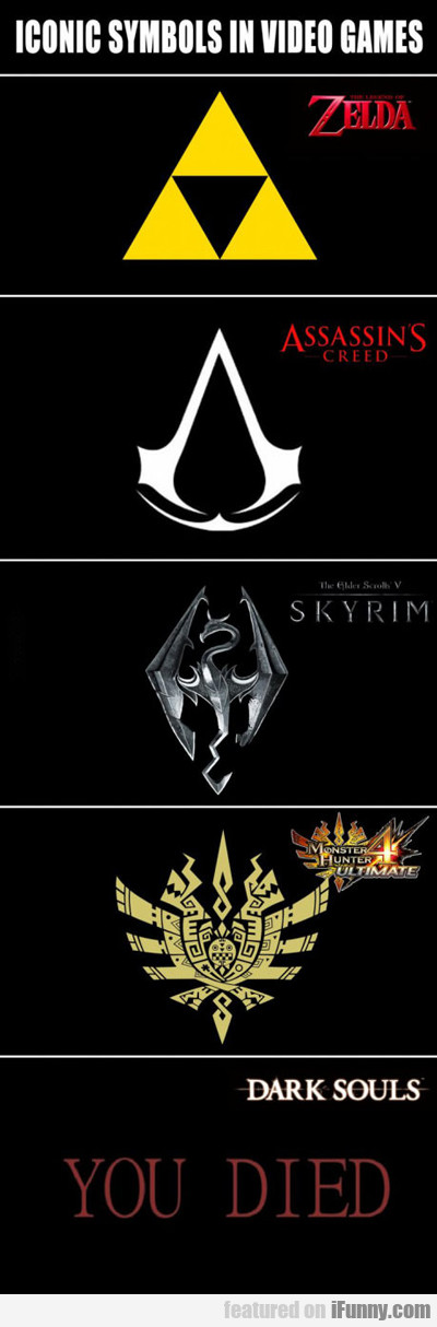 Iconic Symbols In Video Games...