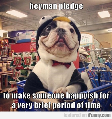 Heyman Pledge To Make Someone Happy