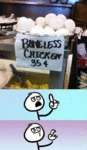Boneless Chicken...