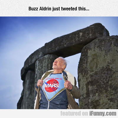 Buzz Aldrin Just Tweeted This...