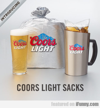 Coors Light Sacks...
