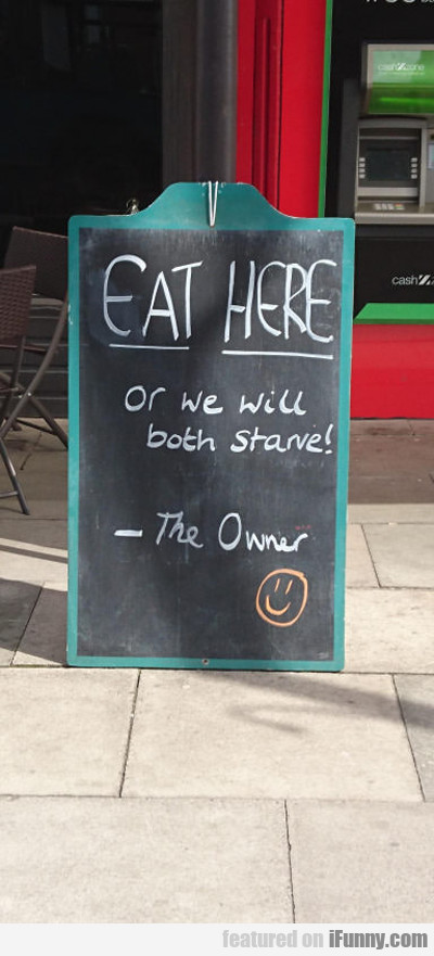 Eat Here...