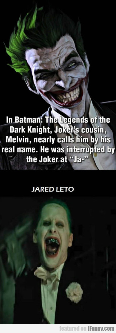 In Batman: Legends Of The Dark Knight...
