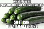 Why Is There Plastic Around A Cucumber?