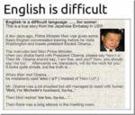 English Is Difficult English Is A Difficult Langu