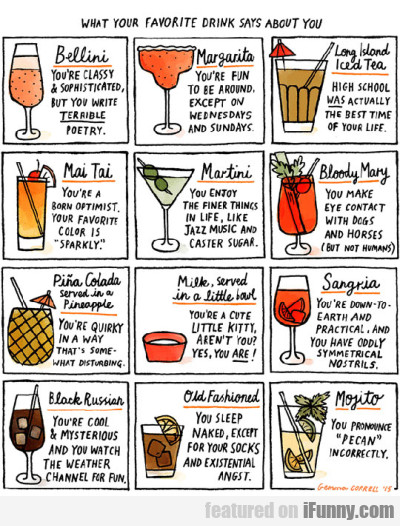 What Your Favorite Drink Says