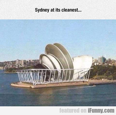 Sydney At Its Cleanest...