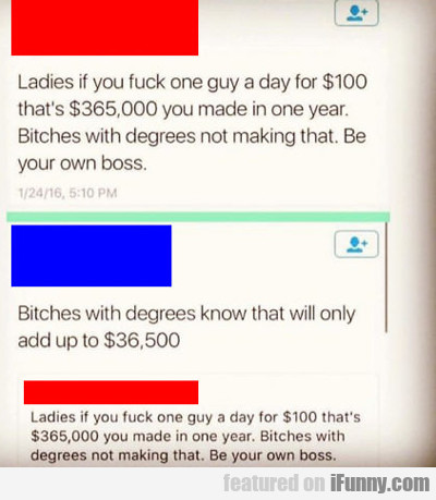 Ladies If You Fuck...