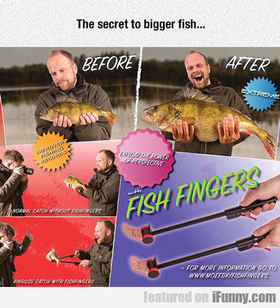 The Secret To Bigger Fish...