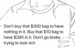 Don't Buy That $300 Bag...