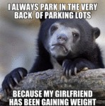 I Always Park In The Very Back Of Parking Lots...