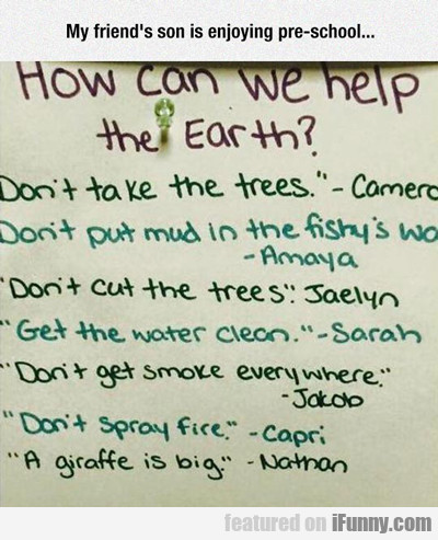 How Can We Help The Earth?