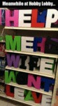 Meanwhile At Hobby Lobby...