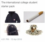 The International College Student Starter Pack...
