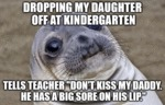 Dropping My Daughter Of At Her School...
