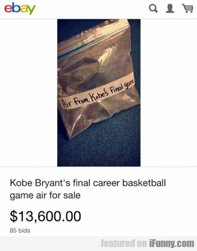 Kobe Bryant's Final Game Air...