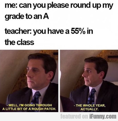 Can You Please Round My Grade Up To An A?