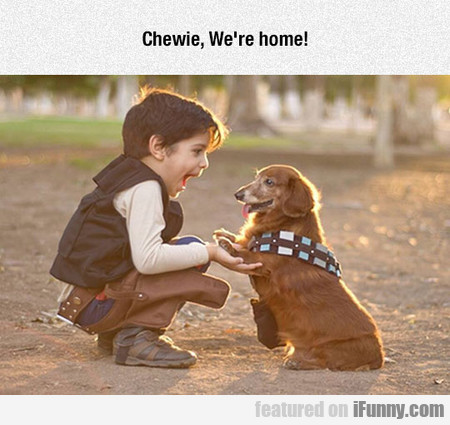 Chewie, We Are Home!