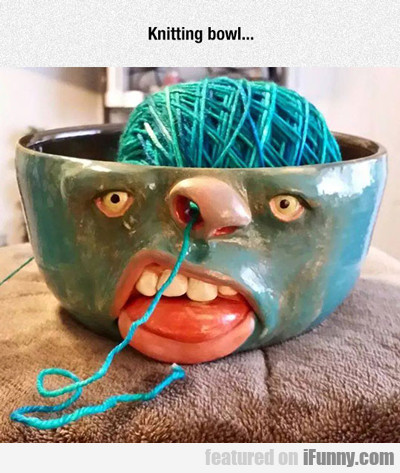 Knitting Bowl...