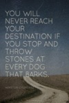 You Will Never Reach Your Destination