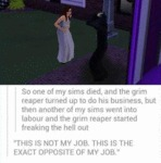 So One Of My Sims Died...