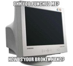 Ohh, You Punched Me?