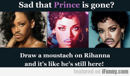 Sad That Prince Is Gone?