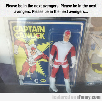 Please Be In The Next Avengers...