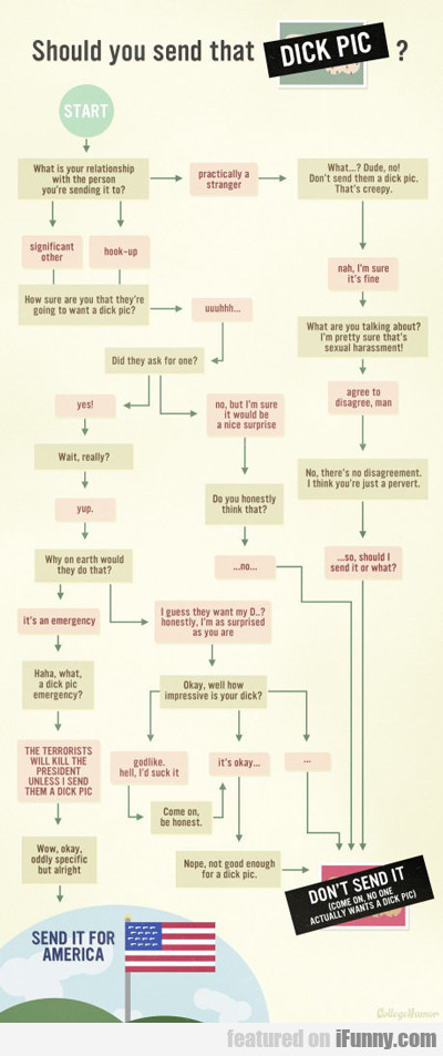 Should You Send That Dick Pic?