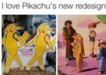 I Love Pikachu's New Desgin...