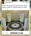 If Four Men Pee At The Same Time...