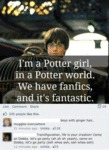 I'm A Potter Girl... In A Potter World...