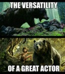 The Versatility Of A Great Actor...
