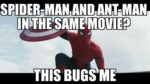Spider-man And Ant-man In The Same Movie...