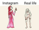 Instagram Vs Real Life...