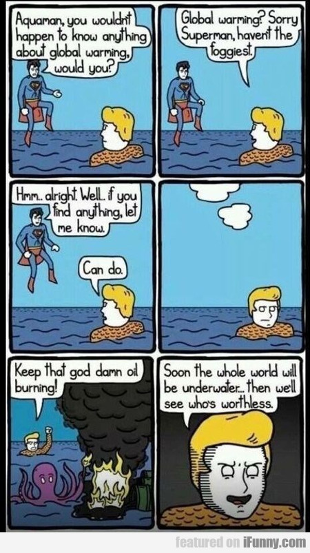 aquaman, you wouldn't happen to know anything...