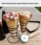 Pizzas That Look Like Cheese....