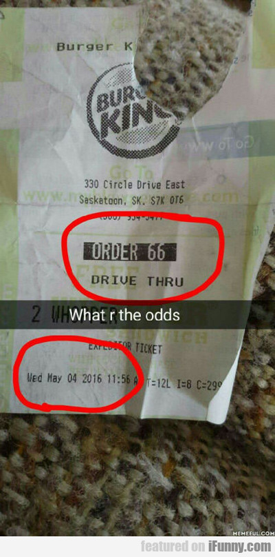 what r the odds?