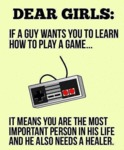 Dear Girls...