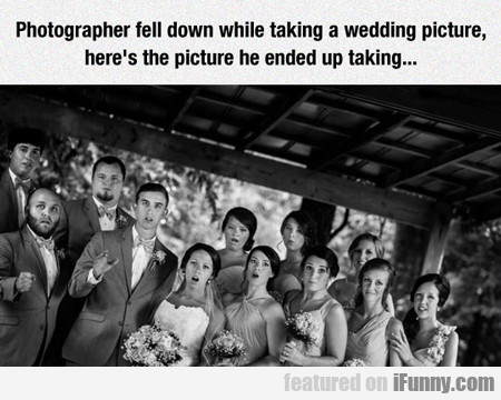 Photographer Fell Down When Taking...
