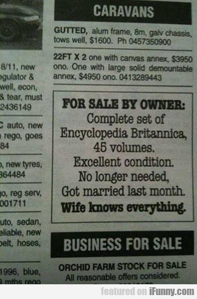 For Sale By Owner...