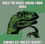 Does The Voice Inside Your Head?