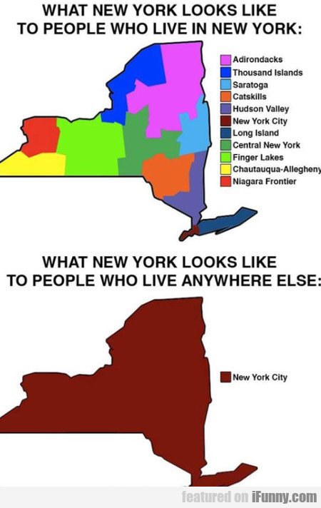 What New York Looks Like To People...