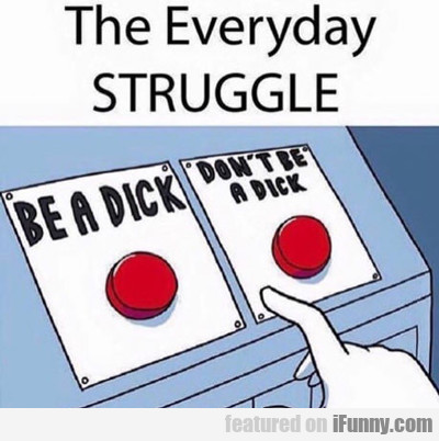 The Everyday Struggle...