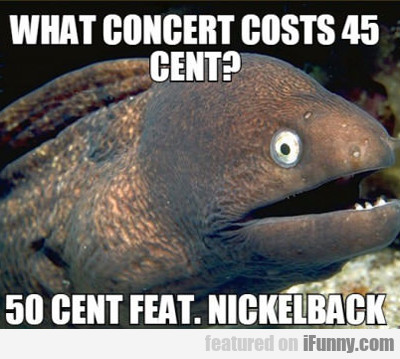 What Concert Costs 49 Cents?