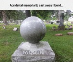 Accidental Memorial To Cast Away I Found...